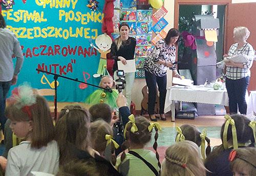 """Gminny Festiwal Piosenki Przedszkolnej """"Zaczarowana Nutka"""""""